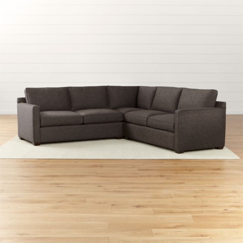 crate and barrel davis sofa slipcover sofascore tennis diretta 3 piece avonlea collection stone grey ...