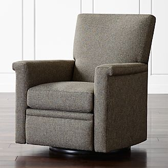 revolving chair accessories folding adirondack chairs living room accent swivel crate and barrel declan 360 recliner