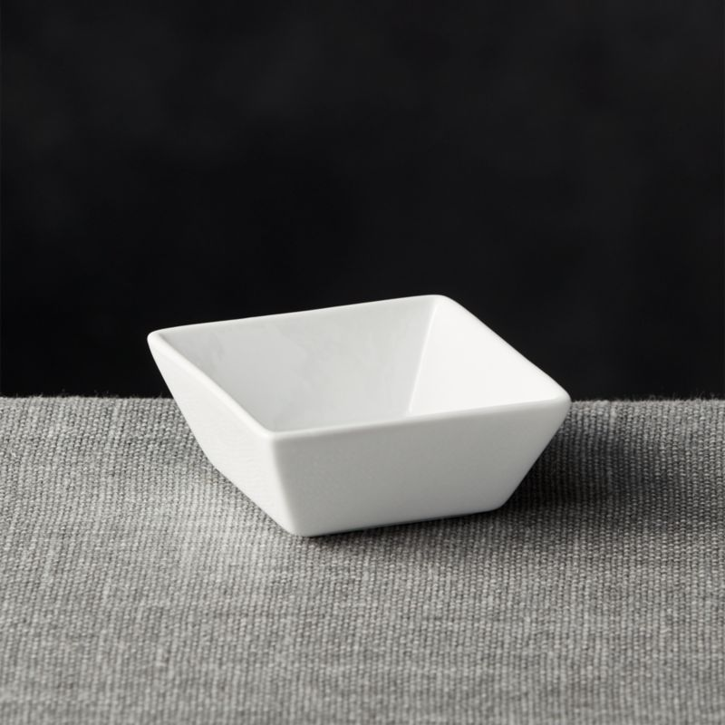 Deep Sauce Dish  Reviews  Crate and Barrel