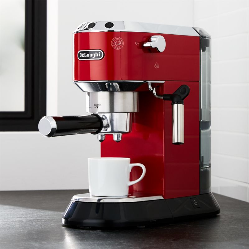 Delonghi Dedica Slimline Red Espresso Maker Reviews