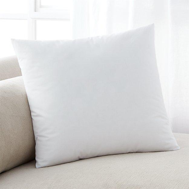 DownAlternative 18 Pillow Insert  Crate and Barrel