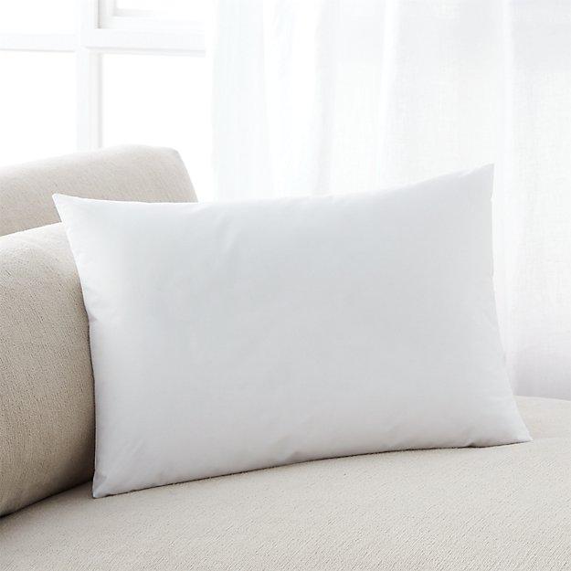 DownAlternative 18x12 Pillow Insert  Crate and Barrel