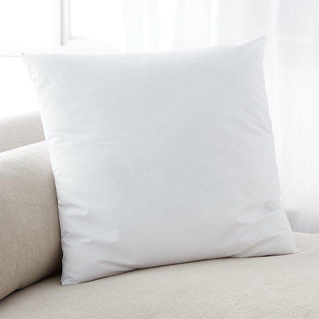 DownAlternative 20 Pillow Insert  Crate and Barrel