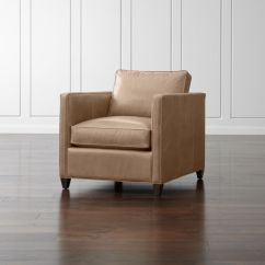 Leather Chair Modern Swivel Chairs Vancouver Bc Dryden Reviews Crate And Barrel Drydenlthrchairmshrmshf15 1x1