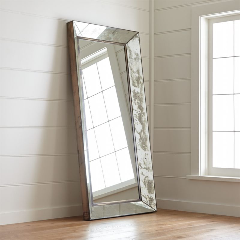 Dubois Floor Mirror  Reviews  Crate and Barrel