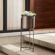 Dundee Floor Planter With Short Stand Crate And Barrel