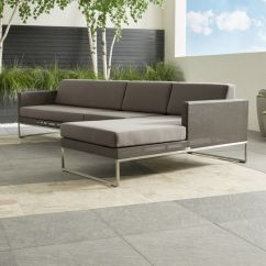 Sunbrella Fabric Sectional Sofas Affordable Sofa In Dubai Dune Outdoor With Reviews Crate And Dune3pcseclaloveseatarmlessrachaiseshs16 1x1