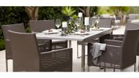 Dune Dining Chair with Cushion | Crate and Barrel