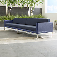 crate and barrel sofa cushion replacement restoration hardware table outdoor furniture: teak, wood, metal, resin |