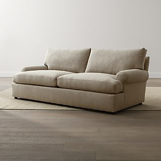 crate and barrel verano sofa rattan corner homebase deep sofas |