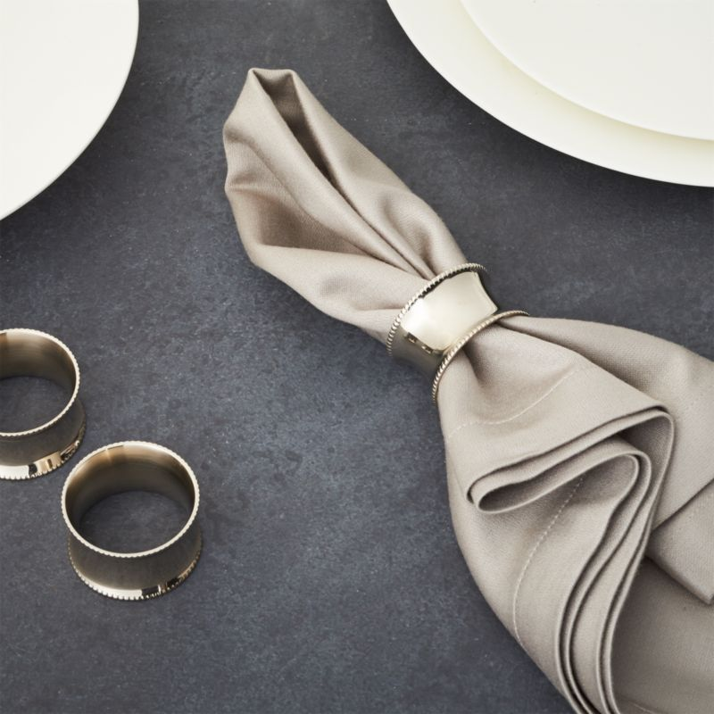 Emerson Napkin Ring Reviews Crate And Barrel