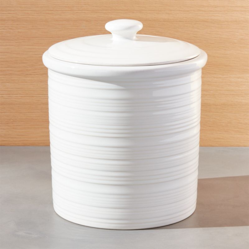 Farmhouse Large Canister Reviews Crate And Barrel