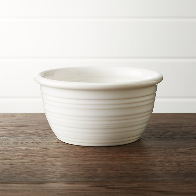 Farmhouse White Cereal Bowl Crate And Barrel