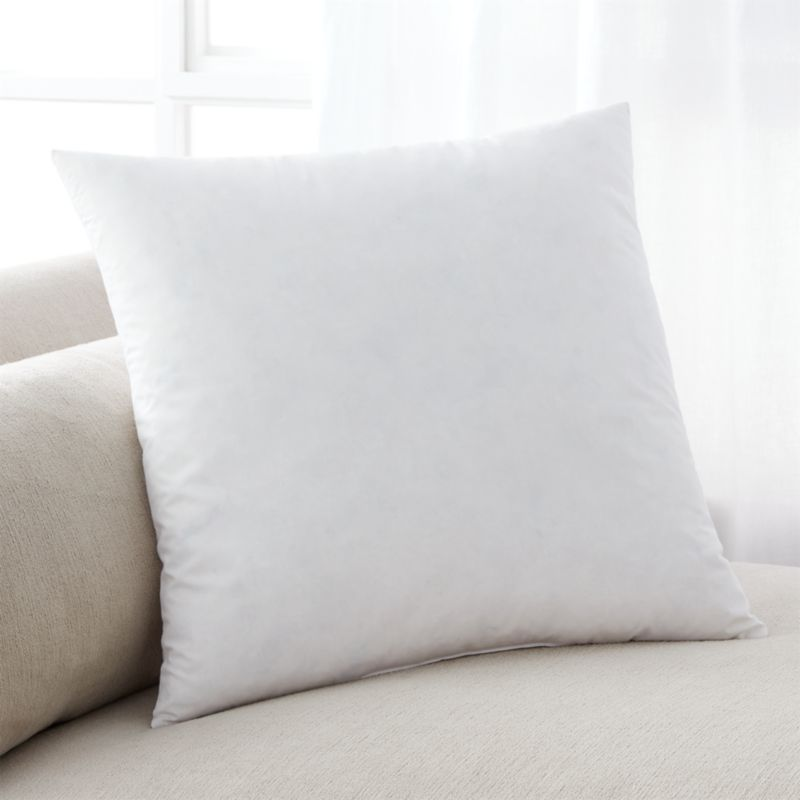 FeatherDown 18 Pillow Insert  Reviews  Crate and Barrel