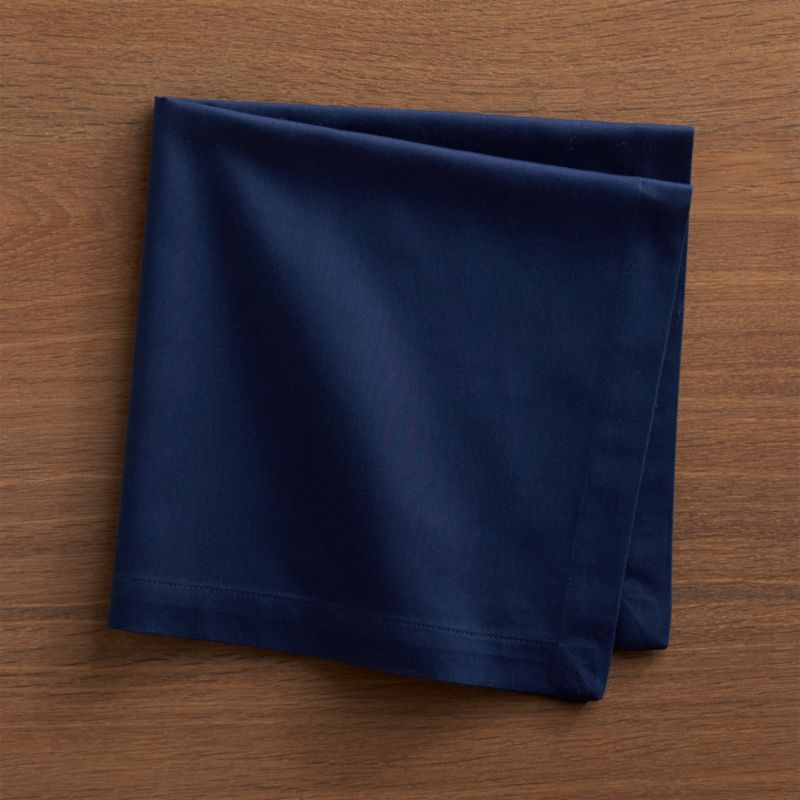 chairs for kids room hanging chair egg fete navy blue cloth napkin + reviews | crate and barrel