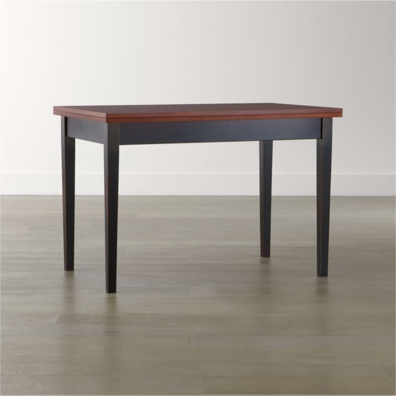 Flip Small Bruno Dining Table + Reviews  Crate And Barrel