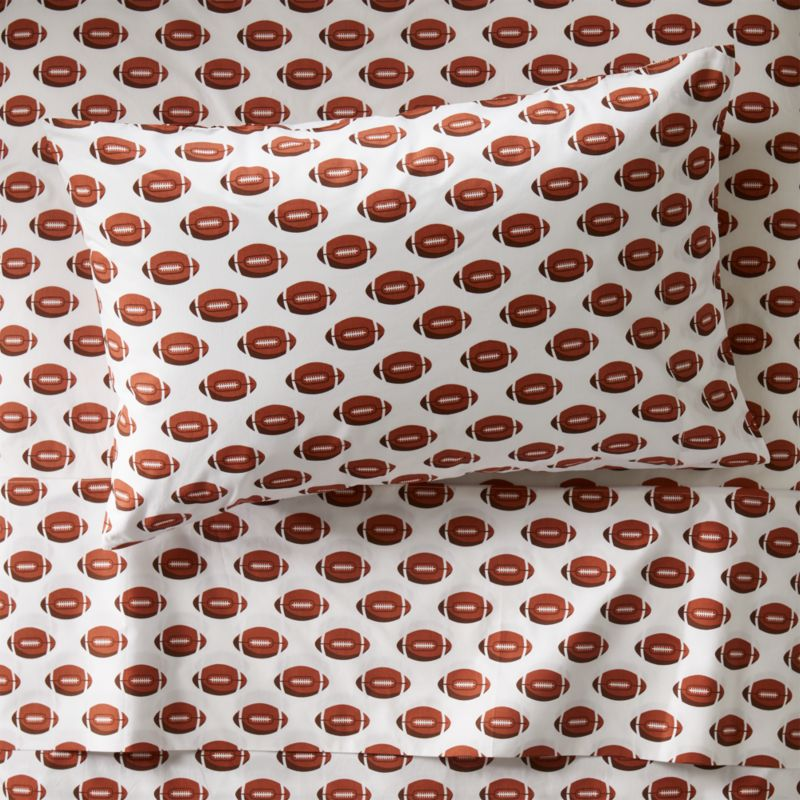 Twin Football Sheets Reviews Crate And Barrel