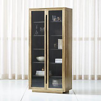 Freda Glass Door Cabinet