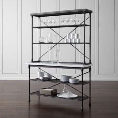 French Velvet Chair Hardwood Mat Diy Kitchen Bakers Rack With Hutch + Reviews | Crate And Barrel