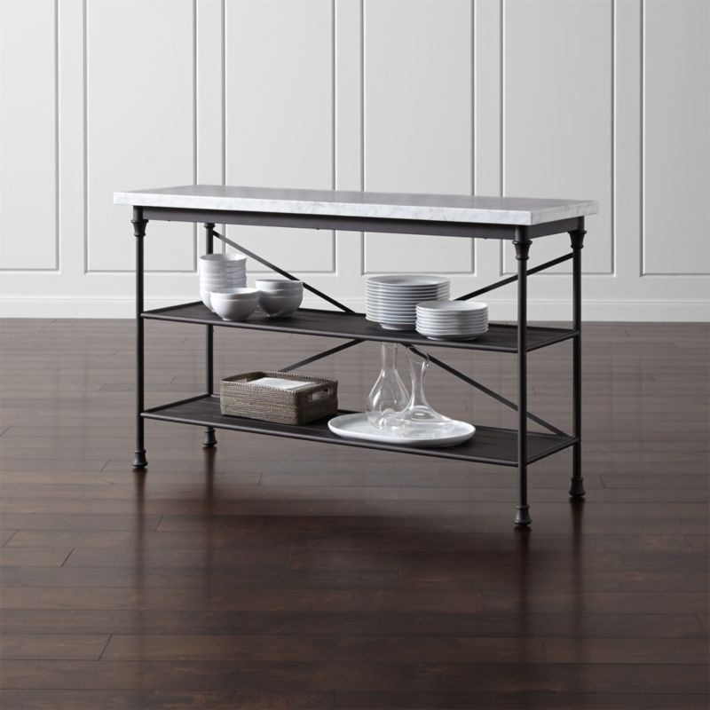 French Kitchen Bakers Rack  Reviews  Crate and Barrel