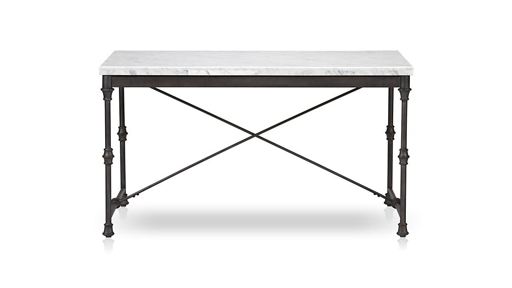 kitchen table stainless steel double sink undermount french reviews crate and barrel