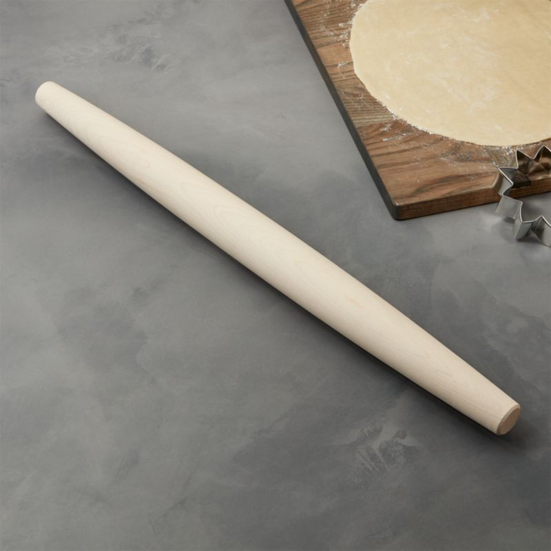 JK Adams Co French Rolling Pin  Reviews  Crate and Barrel