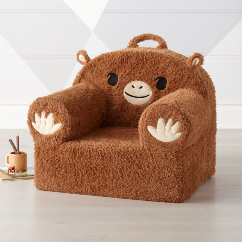 hang around chair cover fold away dining table and chairs large furry monkey nod reviews crate barrel