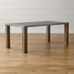 Dining Table With Metal Chairs Black Velvet Australia Galvin 72 Top Reviews Crate And Barrel Save 10 Even On Furniture