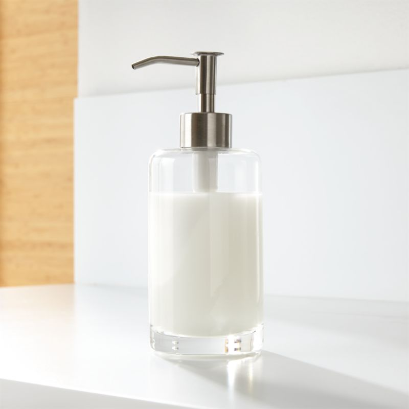 top rated kitchen cabinets furniture glass soap dispenser   crate and barrel