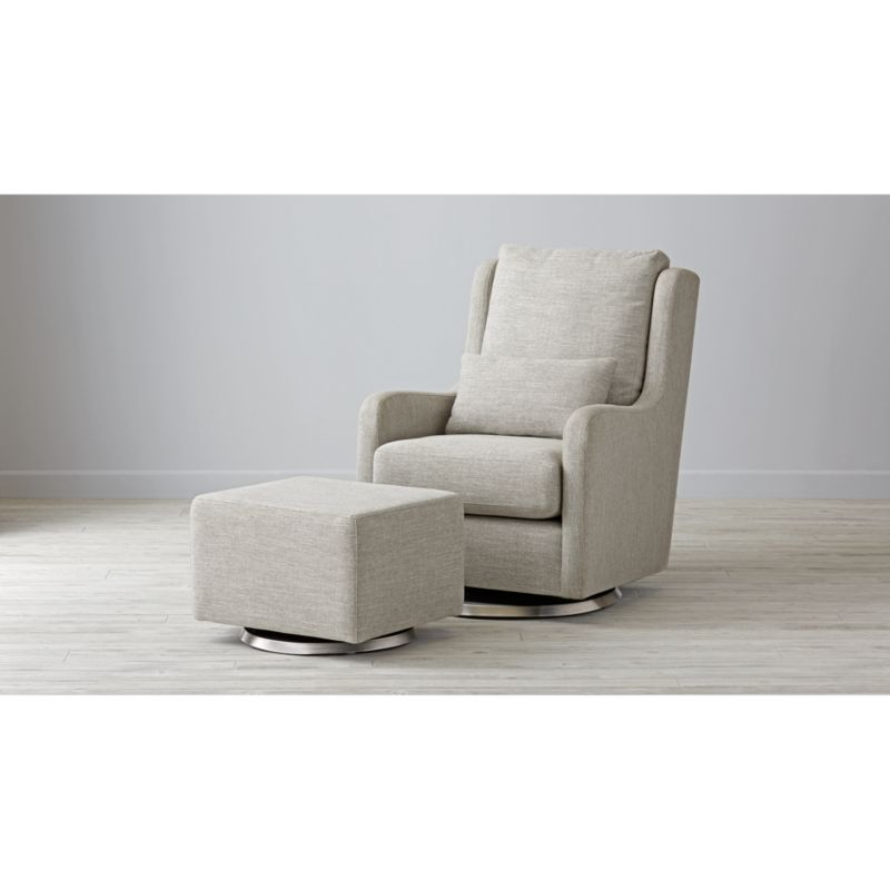 kids chair with ottoman microfiber accent milo glider and crate barrel gliderottomanmilogy 16x9