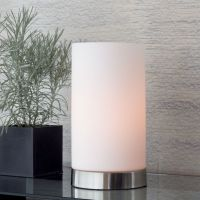 Glow Cylinder Table Lamp + Reviews | Crate and Barrel
