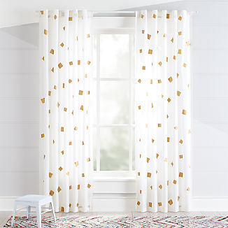 Kids Curtains Amp Hardware Ships Free Crate And Barrel