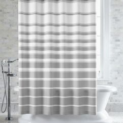 Love Your Lounge Sofas Leather Sofa Ottawa Kijiji Hampton Grey-white Striped Shower Curtain | Crate And Barrel