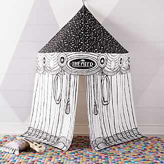 land of nod high chair doll covers london ontario clearance kids toys crate and barrel hanging theater playhouse canopy