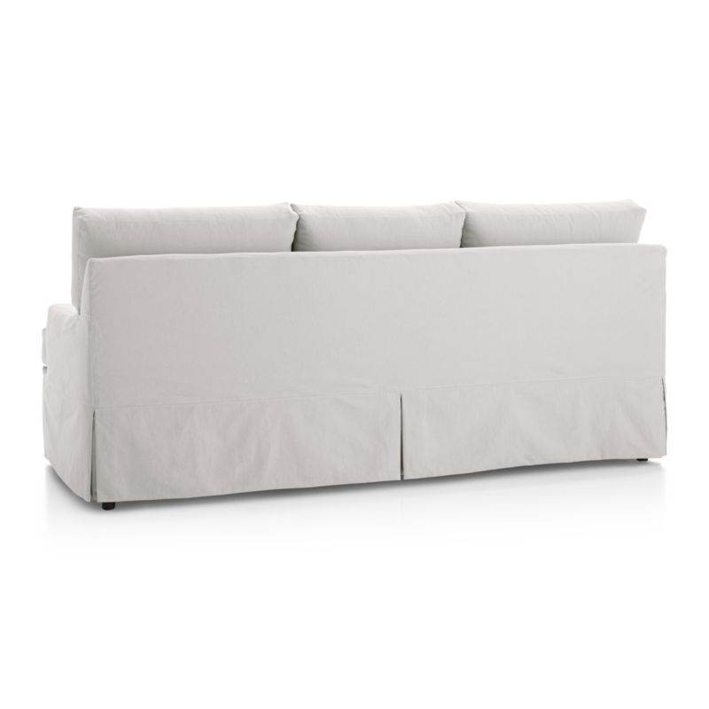 lee slipcovered sofa reviews small beds john lewis hathaway   crate and barrel