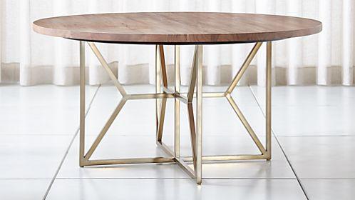 Reclaimed Mahogany Dining Table