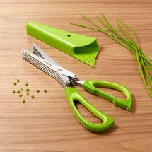 5-blade Herb Scissors Crate And Barrel