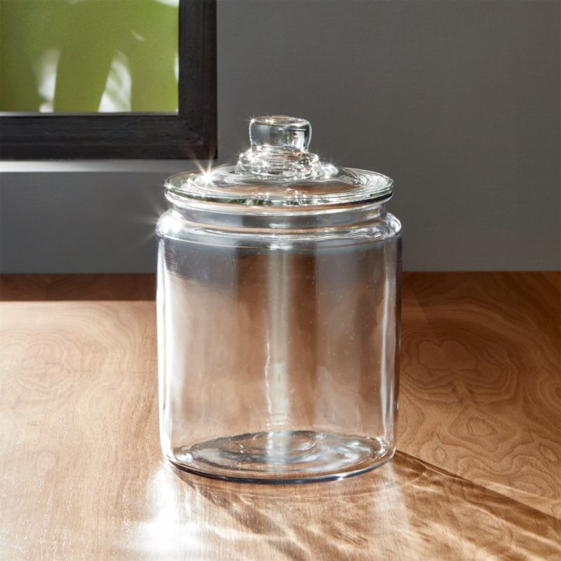 Heritage Hill 64 oz Glass Jar with Lid  Reviews  Crate