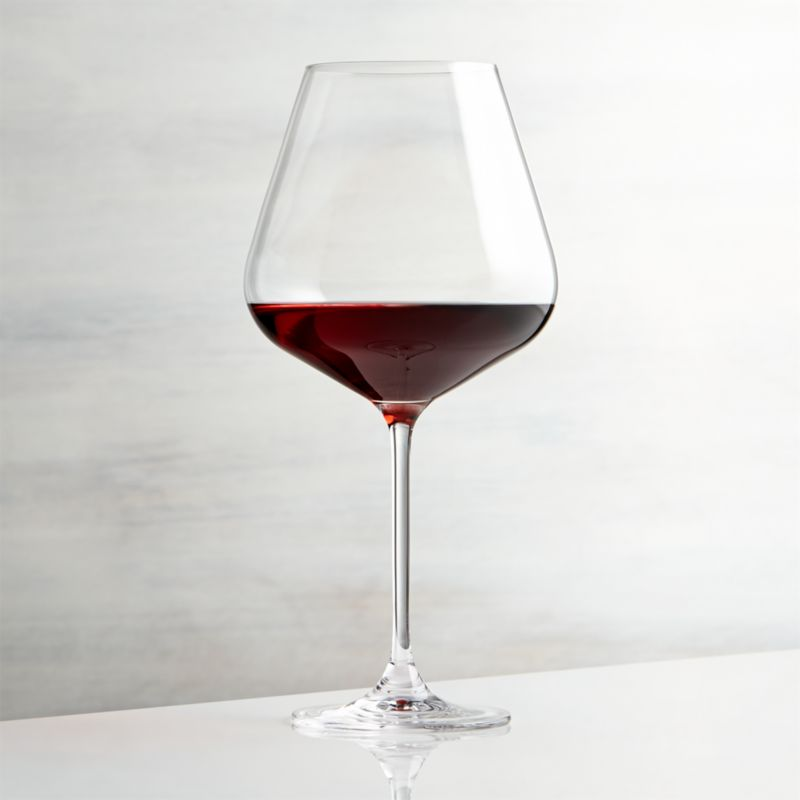 Hip Large Red Wine Glass  Reviews  Crate and Barrel