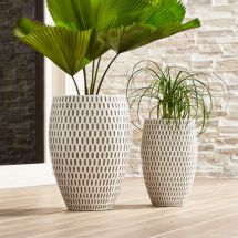 Howell Cement Planters Crate And Barrel