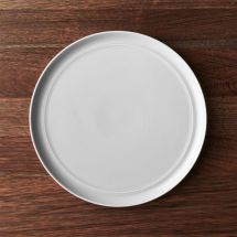 Hue Light Grey Dinner Plate Crate And Barrel