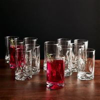 Impressions Juice Glasses, Set of 12 + Reviews | Crate and ...