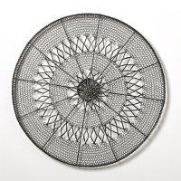 Intricate Circle Large Metal Wall Art | Crate and Barrel