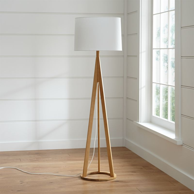 Jackson Floor Lamp  Reviews  Crate and Barrel