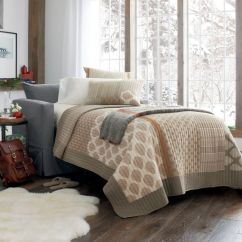 Full Size Sleeper Sofa Slipcover Old Style Set Willow Grey Chair And A Half In Sofas ...