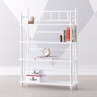 White Jenny Lind Crib + Reviews | Crate and Barrel