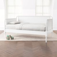 Jenny Lind White Daybed + Reviews | Crate and Barrel