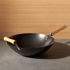 Top Rated Kitchen Cabinets Where To Buy A Island Joyce Chen Non-stick Wok   Crate And Barrel