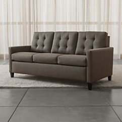 Crate And Barrel Karnes Sleeper Sofa Review Rejuvenate Leather 71