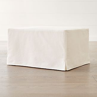 slipcover only for keely ottoman